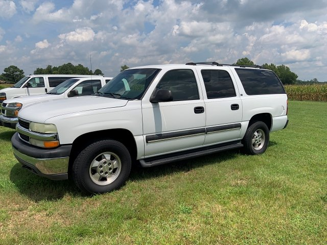 2002 Chevrolet Suburban 1500 2WD 4-Speed Automatic